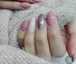 aesthetic, colours, and nail image