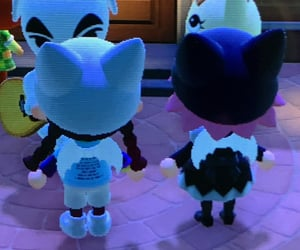 animal crossing, archive, and catgirl image