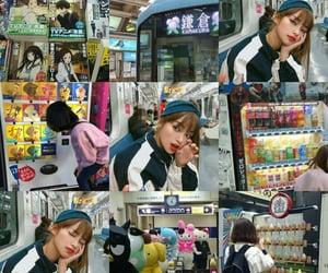blue, korean, and moodboard image