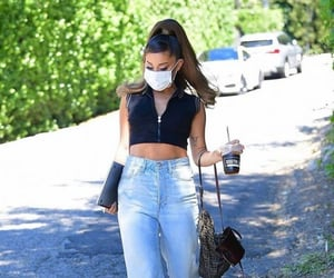 black, jeans, and style image