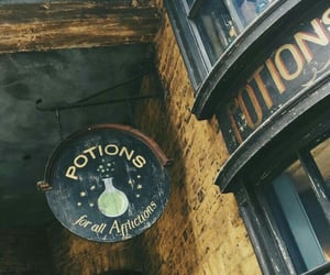 harry potter, severus snape, and diagon alley image