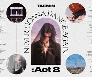 idea, never gonna dance again, and Taemin image