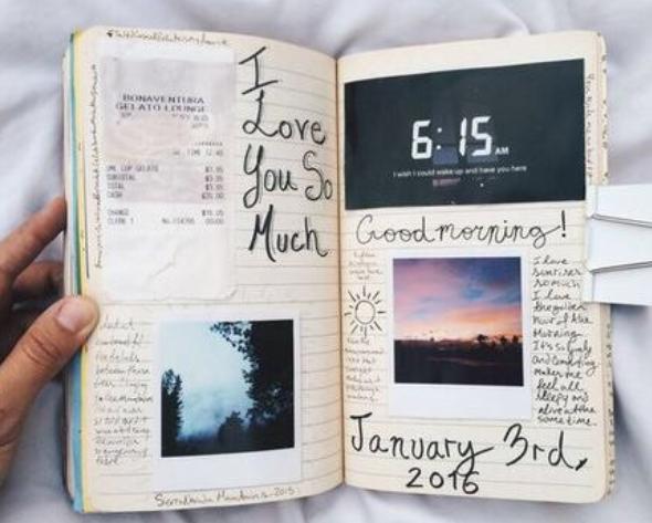 art, diary, and inspiring image