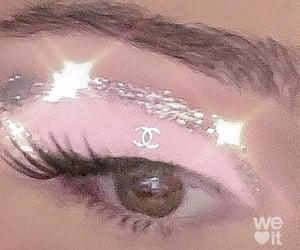 pink, makeup, and chanel image