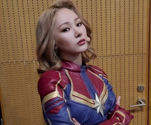 everglow and captain marvel image