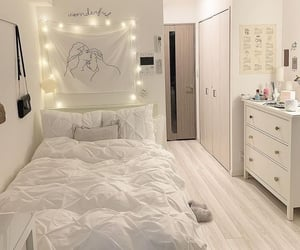 aesthetic, bedroom, and home decor image