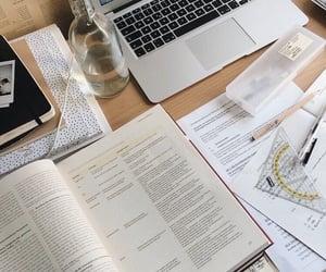 study, homework, and school image