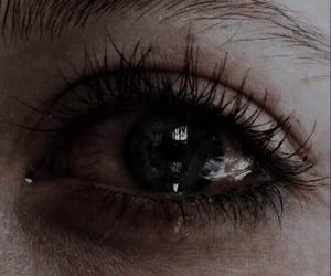 eye, eyes, and cry image