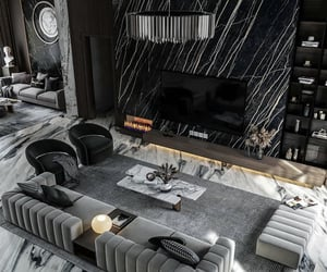 design, living room, and luxury image