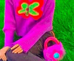 flower, indie, and purple image