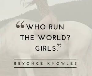 beyonce knowles, girls rule, and girl power image
