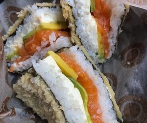 asian, avocado, and food image