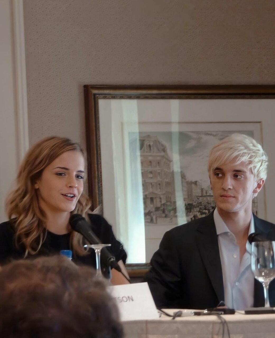Emma Watson And Tom Felton On We Heart It