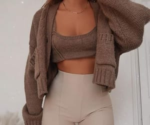 accessories, autumn, and cardigan image