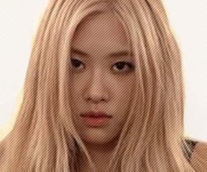kpop, rose, and rosie image