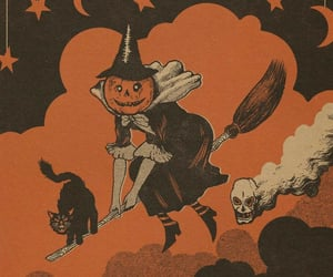 Halloween, cat, and october image