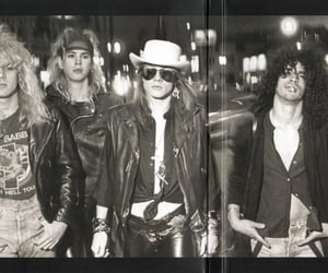 80s, slash, and guns n' roses image
