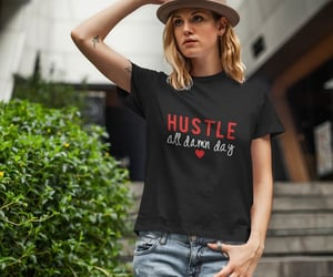 dress, women t shirt, and fashion image