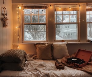 cozy, bedroom, and home image