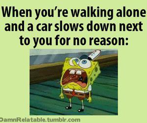 spongebob and car image