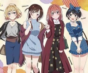 kawaii, cute, and anime girls image