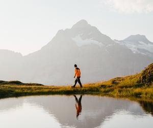boyfriend, camping, and switzerland image