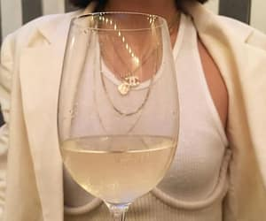 wine, chanel, and fashion image