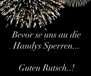 deutsch, handy, and happy new year image