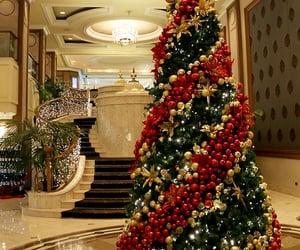 christmas, holiday, and ornaments image