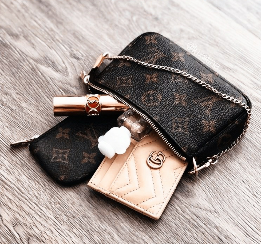 accessories, cosmetics, and louis vuitton handbags image