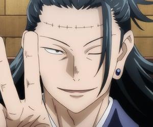 anime, jjk, and jujutsu kaisen image