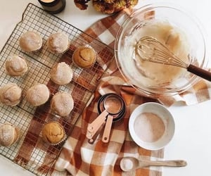 baking, food, and autumn image