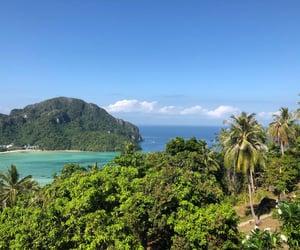 beach, thailand, and paradise image