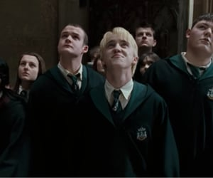 draco malfoy, harry potter, and order of the phoenix image