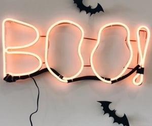 Halloween, autumn, and boo image