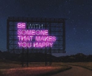 happy, be someone, and make you image