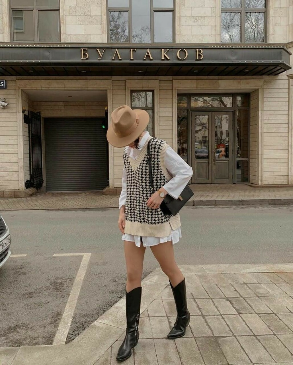 article, blogger, and knitwear image