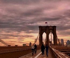 bridge, Brooklyn, and nyc image