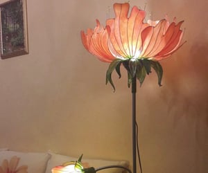 flower and lamp image