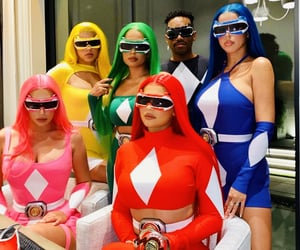 kylie jenner, Halloween, and power rangers image