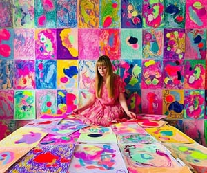 art, colorful, and lovely image