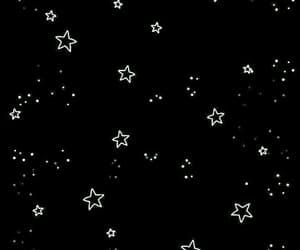 stars, wallpaper, and black image
