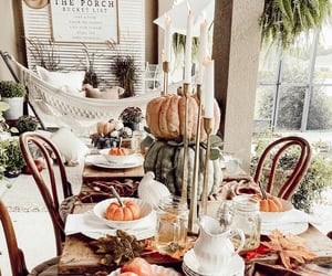 autumn, porch, and country living image