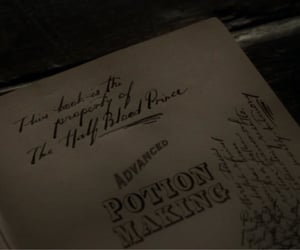 half blood prince, harry potter, and potions image