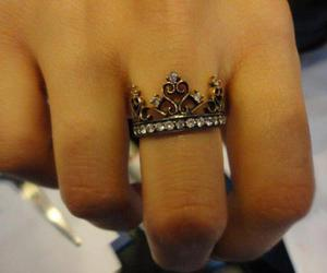 crown, ring, and boy friend image
