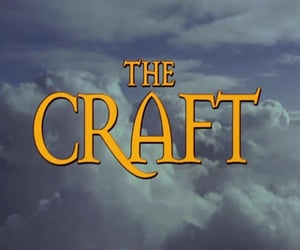 The Craft, 90s, and craft image