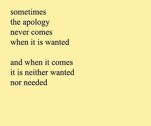 quotes, apology, and poem image
