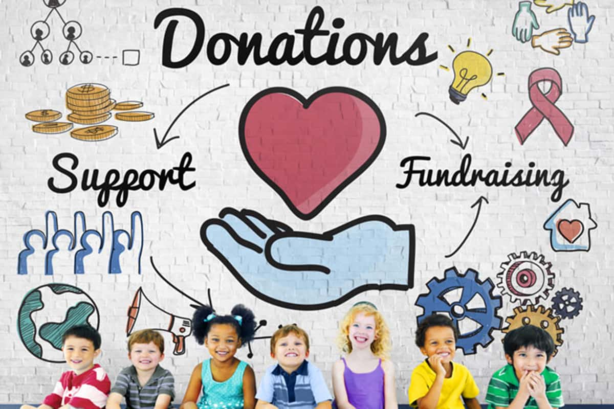 article, help the poor, and free fundraising image