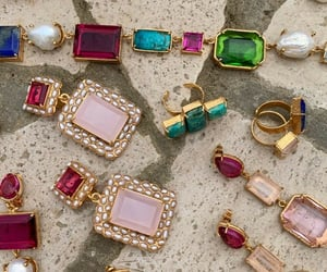 accessories, earrings, and rings image