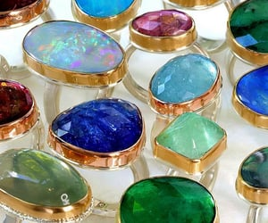 accessories, colors, and rings image